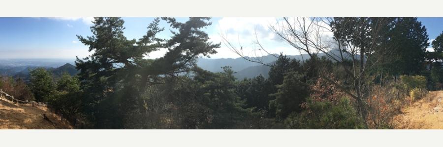 Mt Mitake & Mt Hinode